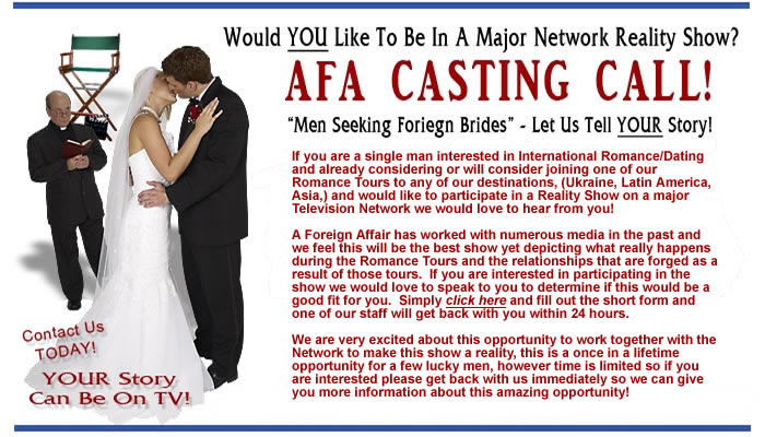 Reality TV Casting Call